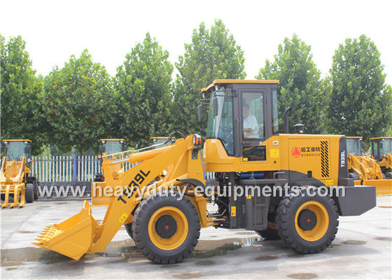 China SINOMTP Wheel Loader T939L With Cummins Engine 4BT3.9-C100 With Rock Bucket supplier