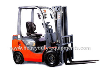 China NISSAN K21 31Kw Engine Industrial Forklift Truck 4 Cylinder Full Free Lift Mast supplier