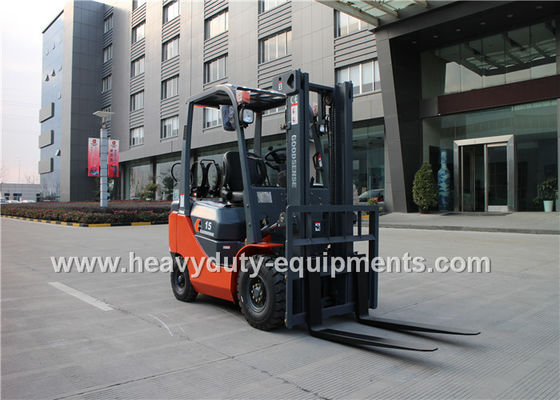 China 2065cc LPG Industrial Forklift Truck 32 Kw Rated Output Wide View Mast supplier
