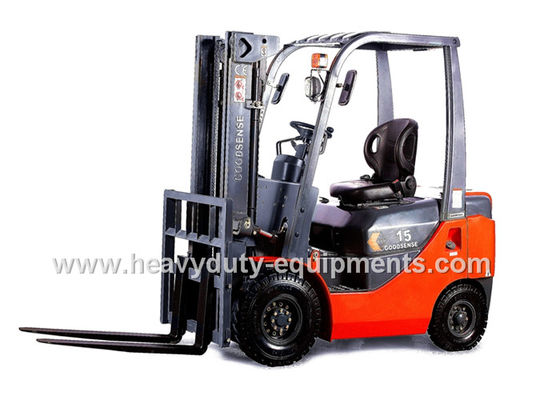 China 4 Cylinder Industrial Forklift Truck Sinomtp FD10 1000kg Diesel ISUZU engine supplier