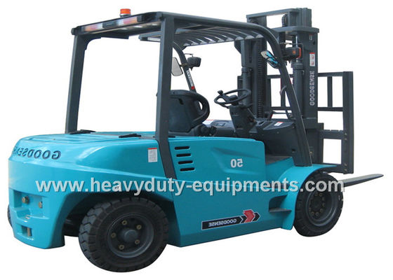 China SINOMTP Counterbalance Lift Truck , 2X11 Kw Motor Drive 4 Ton Forklift supplier
