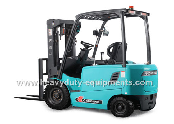 China LCD Instrument Forklift Lift Truck Battery Powered Steering Axle 2500Kg Loading Capacity supplier