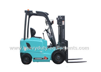 China Port / Wharf 3 Wheel Forklift 130mm Free Lift With Adjustable Steering Wheel supplier