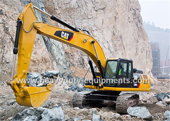 China CAT 330D2L Hydraulic Crawler Excavator 9.6 rpm Swing Speed with 1.54m³ bucket supplier