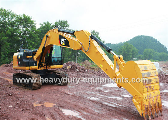 China Cat C7.1 Engine Hydraulic Crawler Excavator 6720mm Max Digging Depth supplier