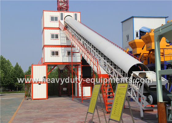 China Hongda HZS/HLS60 of Concrete Mixing Plants equipped with Discharging Height 3.8m supplier