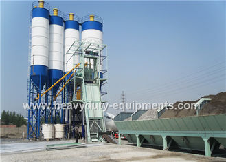 China Hongda HZS75 of Concrete Mixing Plants having the 105 kw power supplier