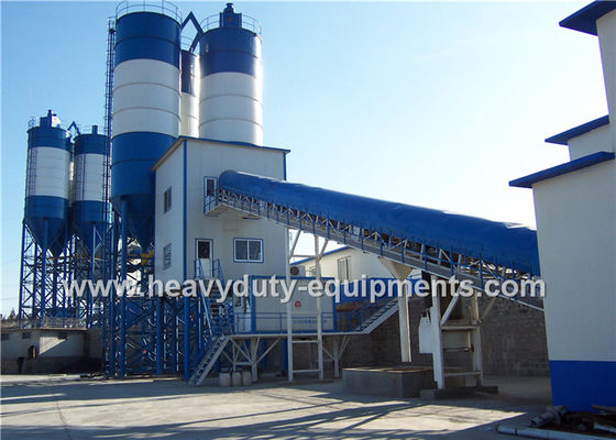China Hongda HZS40 of Concrete Mixing Plants having the 65 kw power supplier