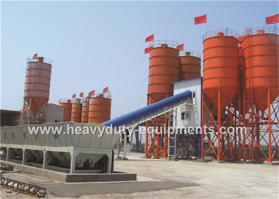 China Hongda HZS200 of Concrete Mixing Plants having the 220 kw power supplier