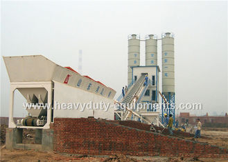 China Hongda HZS50 of Concrete Mixing Plants having the 80 kw power supplier
