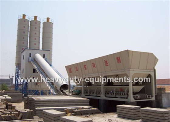 China Hongda HZS100 of Concrete Mixing Plants having the 125 kw power supplier