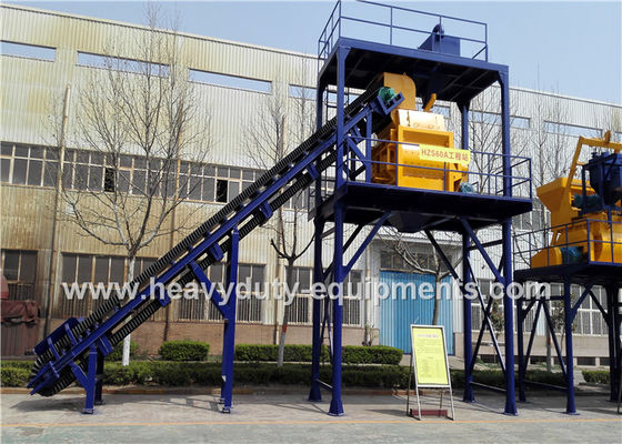 China Hongda HZS/HLS240 of Concrete Mixing Plants having the 220kw power supplier