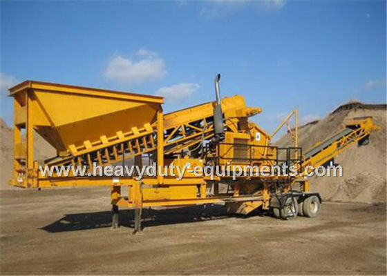 China Three Spindle Mobile impact crusher supplier