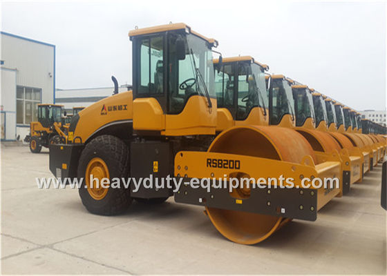 China SDLG RS8200 Road Construction Equipment Single Drum Vibratory Road Roller 20tons Deutz Engine supplier