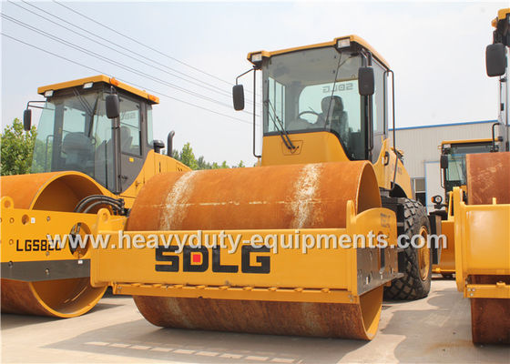 China SDLG RS8140 Road Construction Equipment Single Drum Vibratory Road Roller 14Ton supplier