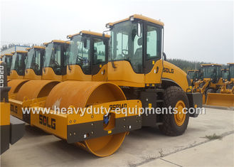 China Single Drum 14t Vibratory Compactor Road Roller Construction Equipment SDLG RS8140 supplier