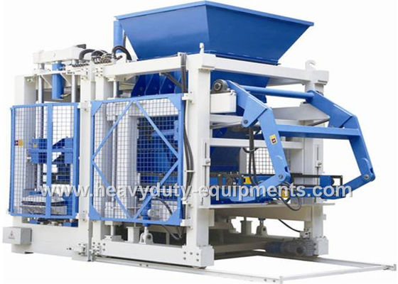 China 120KN Exciting Force Sand Brick Making Machine, Full Automatic Block Maker Machine supplier