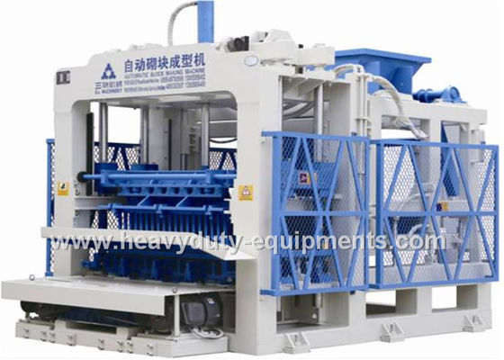 China Buildings / Road Pavers / Gardens Fully Automatic Brick Making Machine 57.88kw supplier