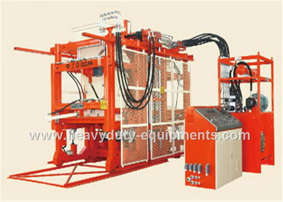 China 15T Gross Weight Hollow Automatic Block Making Machine PLC Control System supplier