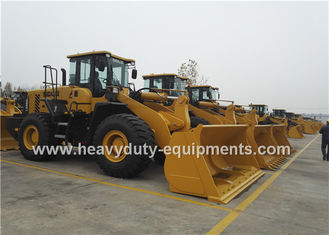 China 5Tons SDLG  Wheel Loader L956F With Pilot Control , 3m3 Rock Bucket , 162kw Weichai Engine supplier