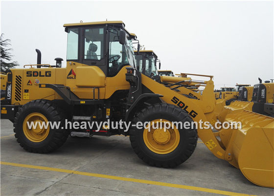 China SDLG LG936L Wheel Loader with 1.8M3 Standard Bucket / Pilot Control / Quick Hitch / Attachments supplier