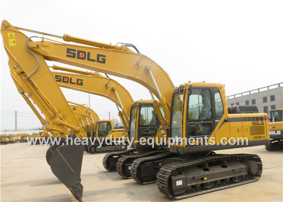 China SDLG LG6210E Excavator DDE Engine 1m3 bucket capacity with warranty supplier