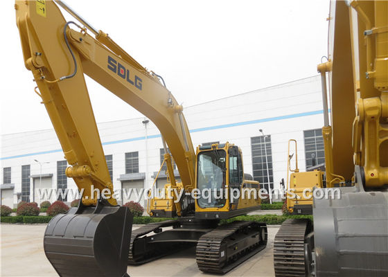 China 5.1km / h Hydraulic Crawler Excavator 172.5KN Digging Force Standard Cab With A / C supplier