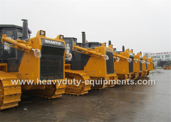 China High Performance Crawler Bulldozer 10M3 Blade Volume 30° Gradeability supplier