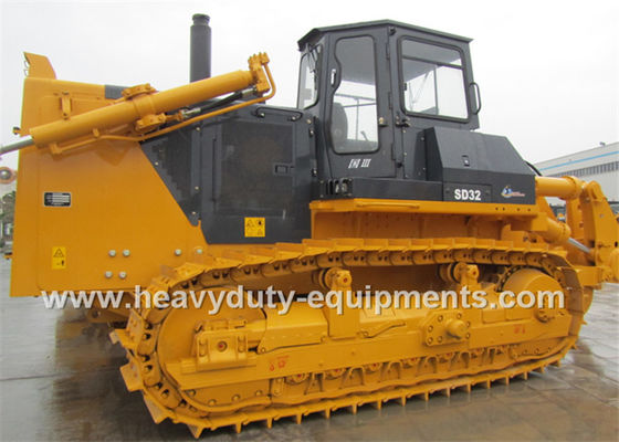 China 10Cbm Shantui Construction Machinery Crawler Dozer With 2000rpm 235kw Cummins NT855-C360S10 Engine supplier