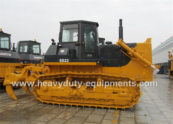 China High Capacity Crawler Bulldozer Earth Moving Equipment With Coal Dozing Blade supplier