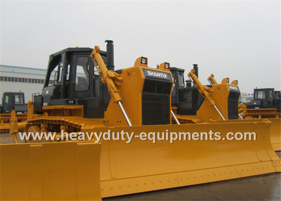 China 320Hp Shantui Dozer Hydraulic System Angle Blade Single Ripper Optional supplier