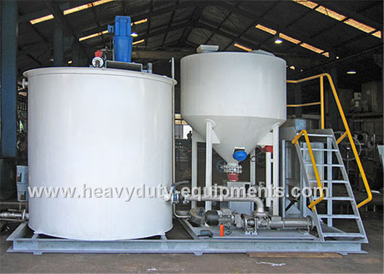 China Durable Energy Saving Flocculant Dosing System 20A Current 3000L Volume supplier