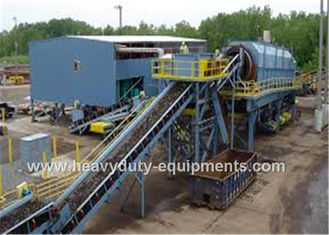 China 13-794 M3 / H Industrial Mining Equipment Cleated Belt Conveyor With Max 90° Inclination Angle supplier