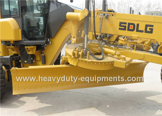 China Mechanical Road Construction Equipment SDLG Motor Grader Front Blade With FOPS / ROPS Cab supplier