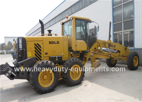 China DEUTZ Engine Road Construction Equipment  Yellow Motor Grader Meichi Axle Drive supplier
