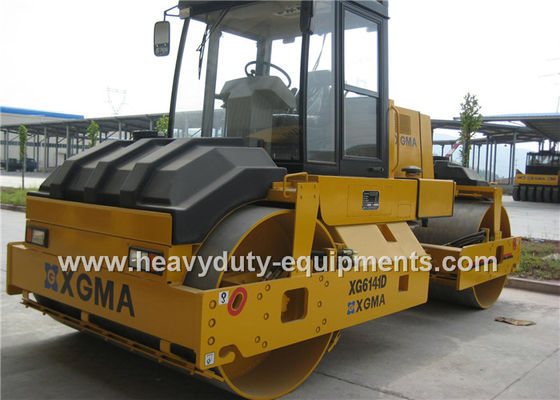 China Road Building Equipment Vibratory Tandem Roller XGMA XG6141D Cummins Engine supplier