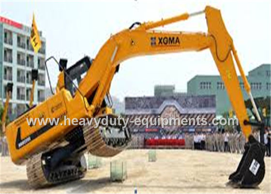 China Crawler Mounted Hydraulic Mining Excavator Long Boom 4941mm Track Length supplier