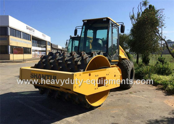 China Shantui 12tons single drum road roller SR12-5 with hydraulic motion , weichai engine supplier