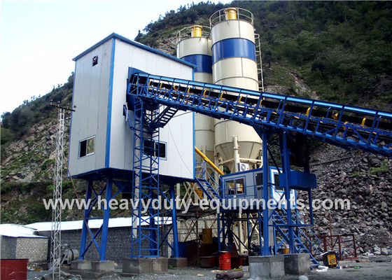 China Shantui HZS50E of Concrete Mixing Plants having the theoretical productivity in 50m3 / h supplier