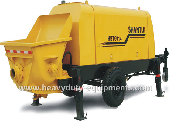 China SHANTUI HBT9018R concrete pump trailer adopts Weichai Deutz diesel engine supplier