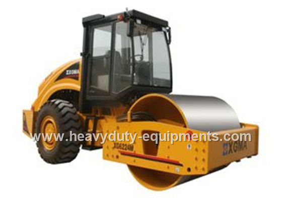 China 506N / cm Road Construction Equipment Road Roller Machine Hydraulic Vibration supplier
