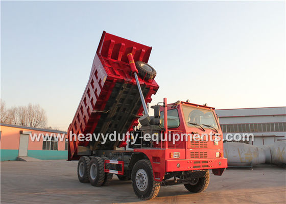 China big loading  Mining dump truck 371 horsepower Left hand steering Vehicle from sinotruk supplier