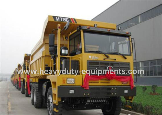 China Rated load 60 tons Off road Mining Dump Truck Tipper  309kW engine power with 34m3 body cargo Volume supplier