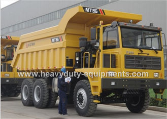 China Rated load 55 tons Off road Mining Dump Truck Tipper  309kW engine power with 30m3 body cargo Volume supplier