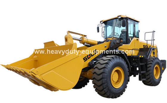 China SDLG 5T 3m3 Wheel Loader with Weichai 162kw , SDLG Heavy Axle, ZF Transmission for option supplier