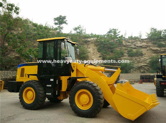 China Sinomtp Lg936 Wheeled Front End Loader 3000kg With 3100mm Maximum Dump Height supplier