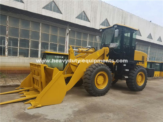 China 3000kg Loading Capacity Wheel Heavy Equipment Loader With 127kn Breakout Force And 3100mm Dump Height supplier