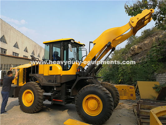 China 938 Wheeled Frond End Loader With 40km/H Max.Speed Of Yj315 Transmission Grab Fork As Optional supplier