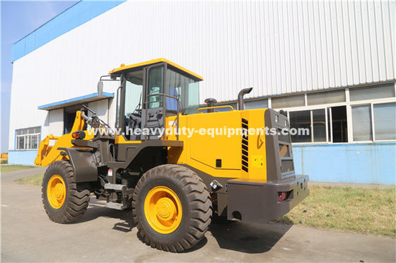 China ZL30 Wheel Loader With 9800kg Overall Weight And 6890x2430x3070mm Overll Size From SINOMTP supplier