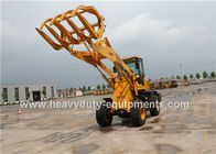 China 1.6 Ton Bucket Wheel Loader T930L Optional Grass Grapple 4300kgs Operating Weight factory